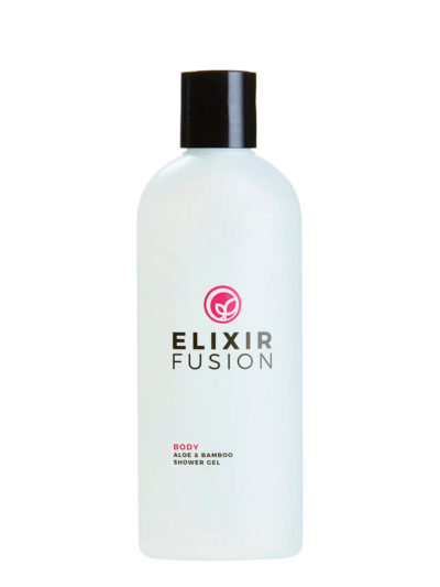 image of the aloe & bamboo shower gel