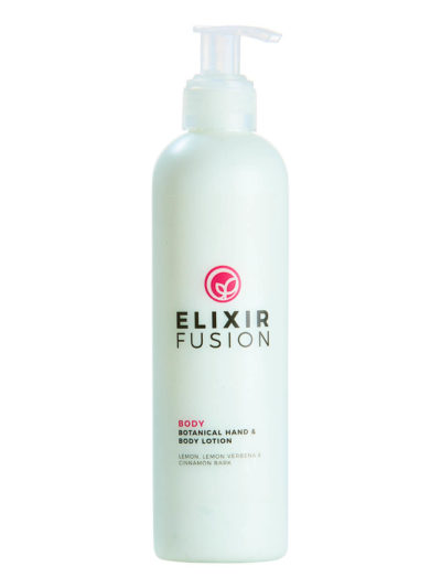 Image of the Botanical Hand & Body Lotion pump bottle